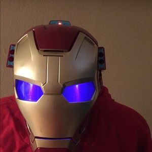 Marvel Iron Man 3 Mission Mask Halloween Costume